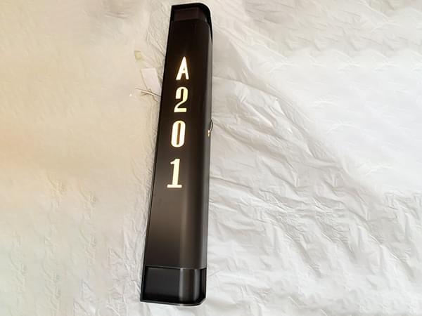 酒店金属不锈钢个性定制门铃门牌