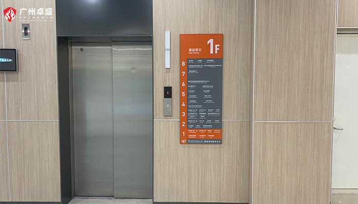 电梯指引牌
